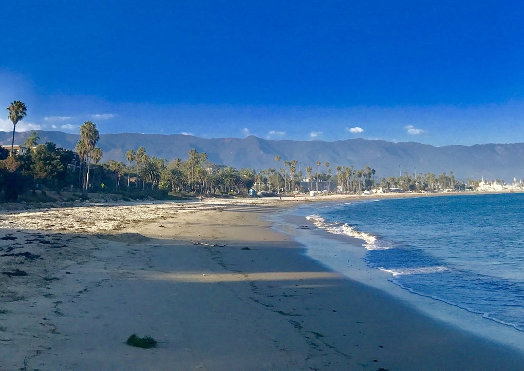 Santa Barbara's Leadbetter Beach